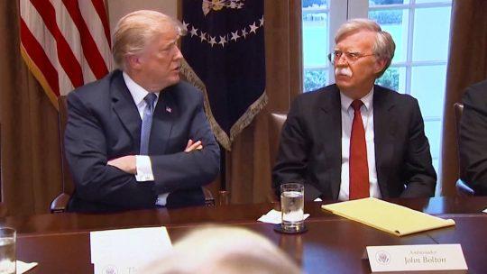 John Bolton dispuesto a testificar en el proceso de juicio político del Senado