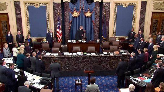 El Senado se prepara para absolver al presidente Trump en el juicio político