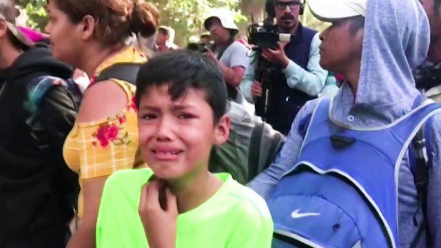 Condenan represión de migrantes centroamericanos en México