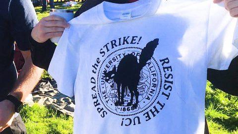 Más de 80 estudiantes de posgrado en la Universidad de California son despedidos por hacer huelga