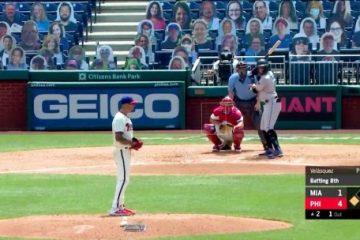 Posponen partidos de béisbol en EE.UU.