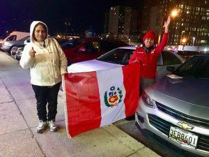 Peruanos en el exterior movilizan el voto