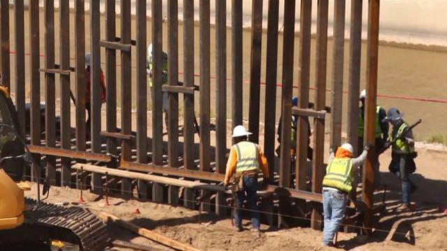 Comienza construcción de muro en la frontera México-EE.UU.