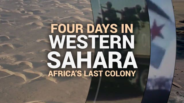 Cuatro días en el Sahara Occidental ocupado