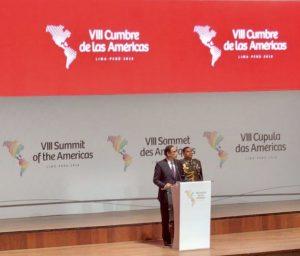 Cumbre de las Américas: Miradas van y vienen
