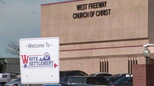 El atacante de la iglesia de Texas tenía extensos antecedentes penales