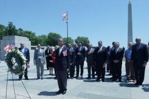 Gobierno de Puerto Rico honran a caídos en armas en Washington DC