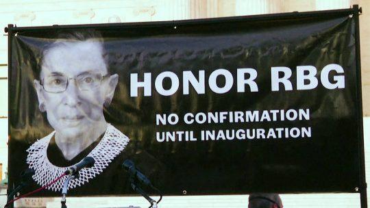 Trump y el Partido Republicano siguen adelante por reemplazar a Ruth Bader Ginsburg en la Corte Suprema
