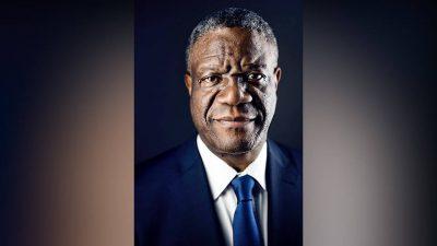 ONU advierte que el Premio Nobel de la Paz Dr. Denis Mukwege podría estar en peligro tras amenazas