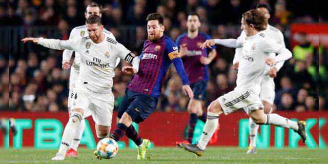 Real Madrid y Barcelona empatan a cero