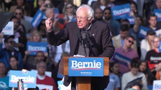 Sanders podría ganar la nominación presidencial