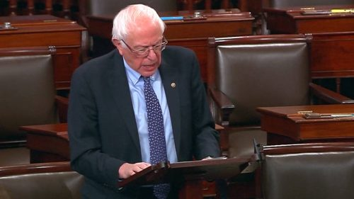 Senado aprueba resolución para ponerle fin a la guerra en Yemen