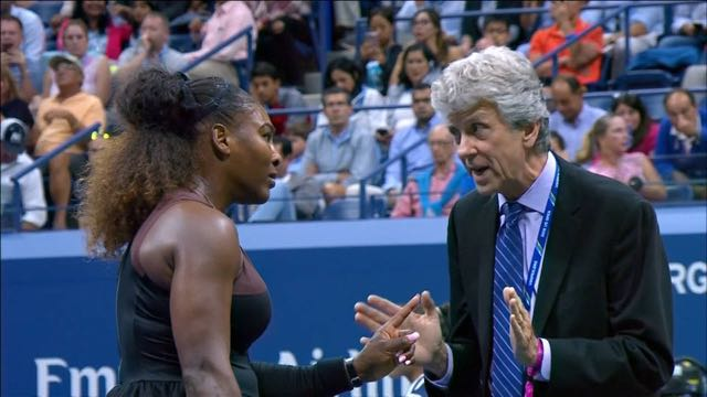 Serena Williams se enfrenta al sexismo de los árbitros en el Abierto de Estados Unidos 2018