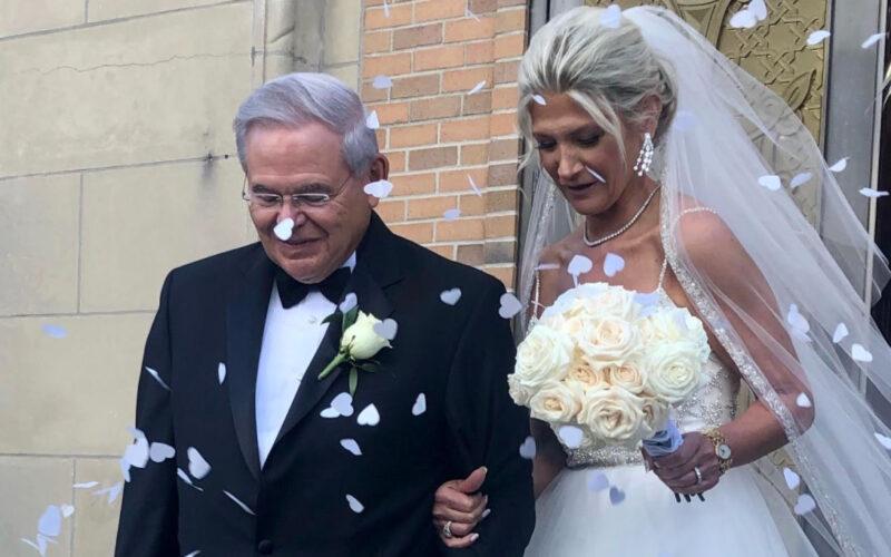 Senador Bob Menéndez contrae matrimonio