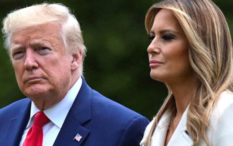 El presidente Trump y la primera dama, Melania Trump, dan positivo por coronavirus
