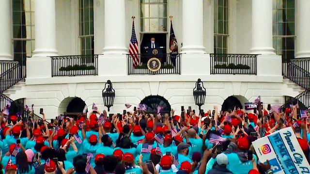 """Trump reanuda los actos de campaña y declara que es """"inmune"""" al coronavirus"""