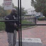 Nueva cerca protege a la Casa Blanca
