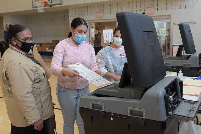 Votaciones anticipadas presenciales en el área de Washington
