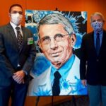 El arte de David Amoroso en prestigioso centro médico de Maryland