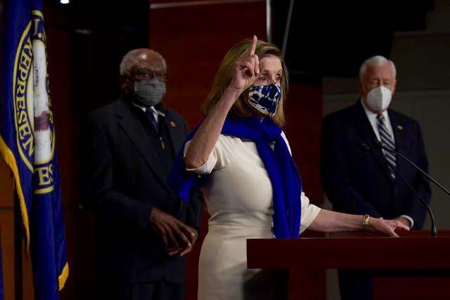 Pelosi es reelegida presidenta del Congreso de EE.UU.