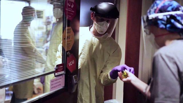 Las hospitalizaciones por coronavirus rompen récords en EE. UU.