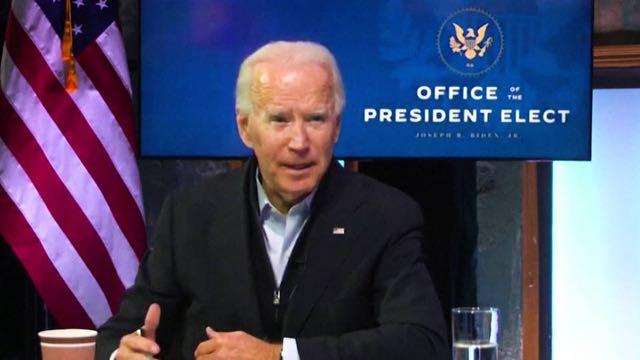 Biden afirma que negativa de Trump a reconocer los resultados electorales podría retrasar por meses el lanzamiento de vacunas
