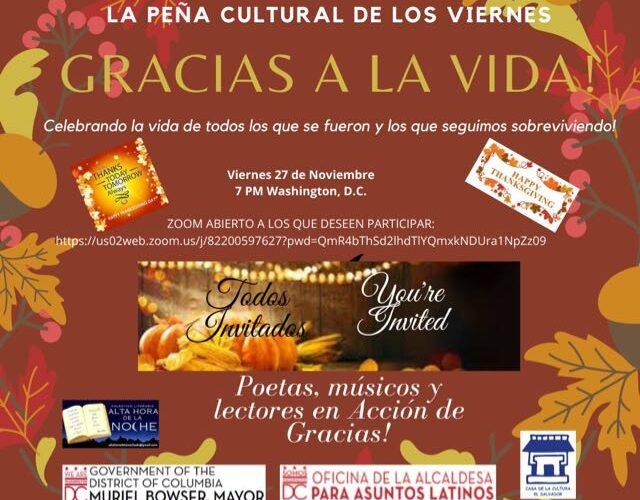 Participación abierta en Peña Cultural virtual