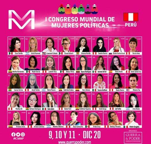 Sororidad: I Congreso Mundial de Mujeres Políticas