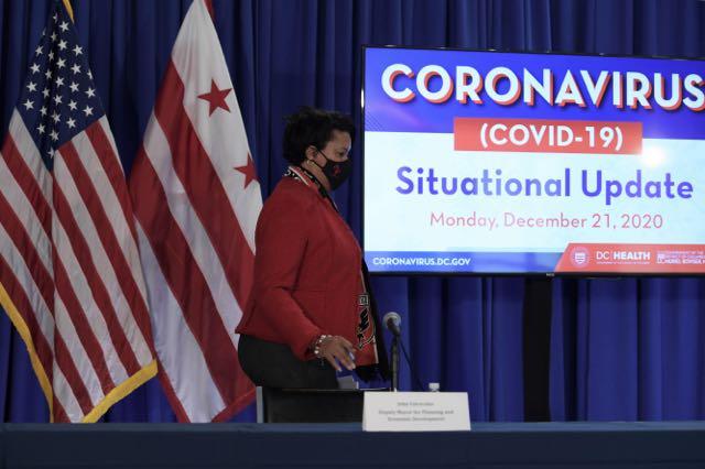 La alcaldesa Bowser informa sobre situación del coronavirus en DC