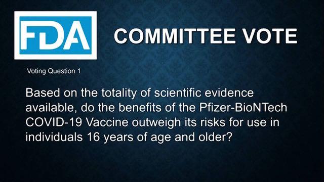 La FDA está a punto de aprobar de emergencia la vacuna contra el COVID-19 de Pfizer-BioNTech