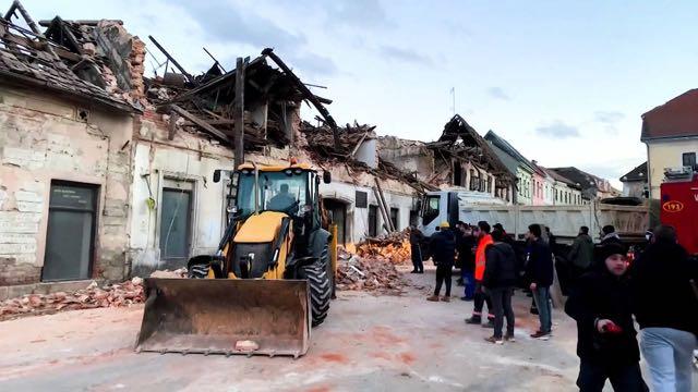 Terremoto de magnitud 6,4 en Croacia deja al menos siete muertos