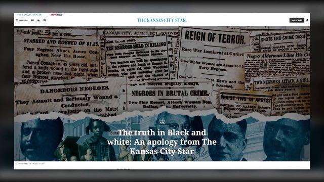 El periódico Kansas City Star se disculpa por su historial racista