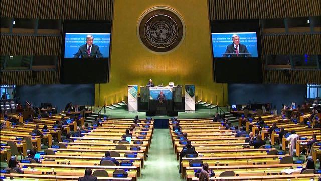 El secretario general de Naciones Unidas advierte que el impacto de la pandemia puede durar décadas