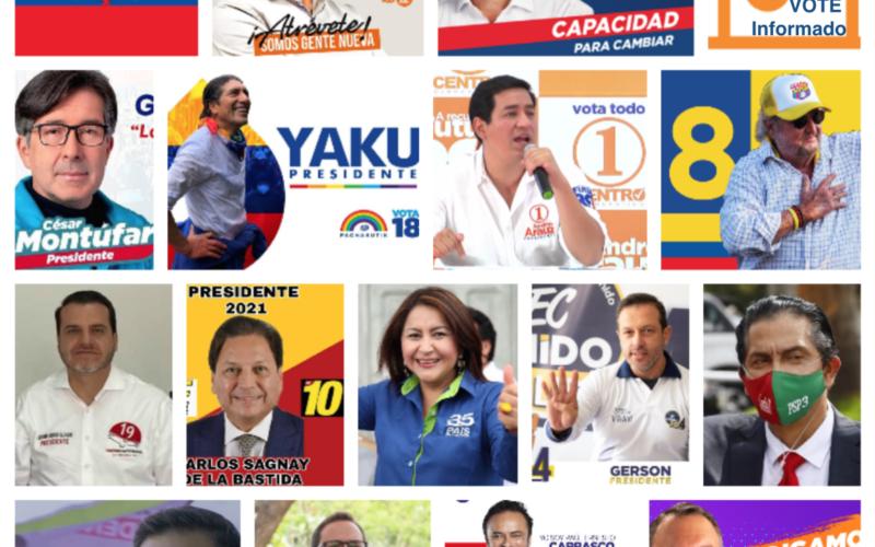 Elecciones Presidenciales Ecuador 2021