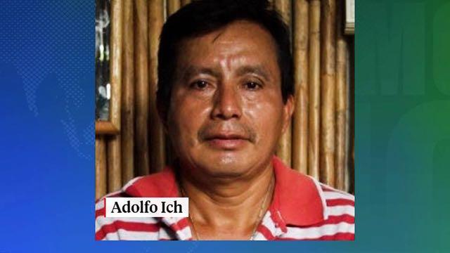 Canadiense en Guatemala condenado por asesinar al líder indígena