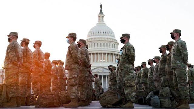 Despliegan 20.000 miembros de la Guardia Nacional para la investidura presidencial de Joe Biden