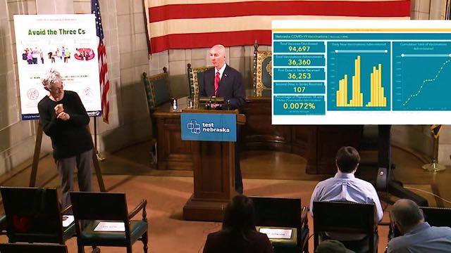 Gobernador de Nebraska excluye a indocumentados de vacunación contra Covid-19
