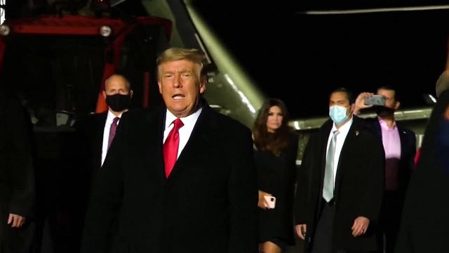 Congresistas demócratas penalizarán a Trump por su intento de revocar resultados de elecciones presidenciales