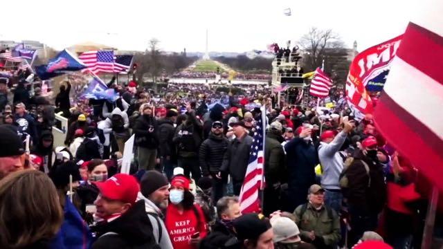 Autoridades sanitarias advierten que la insurrección en Washington D.C. puede ser un evento supercontagiador