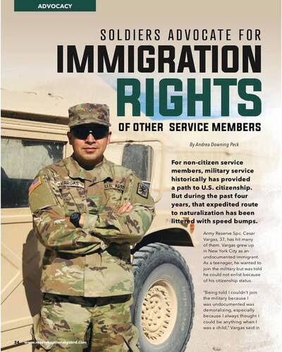 Soldiers Advocate for Immigration Rights of Other Service Members