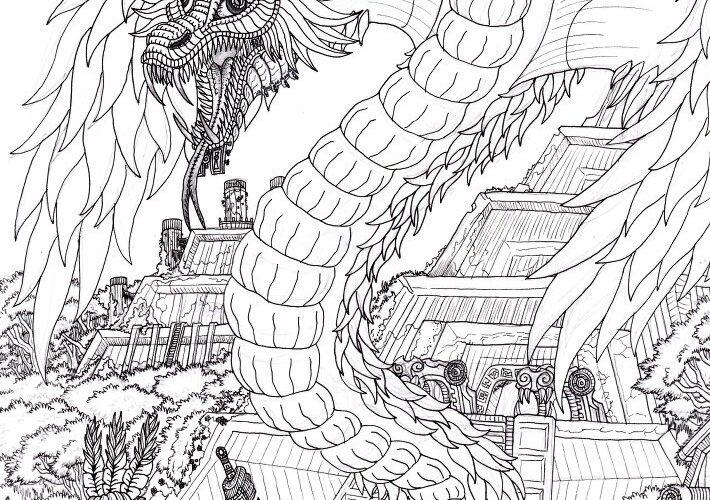 """Salvador Cervantes Rodas, arte conceptual con """"Mythos"""""""