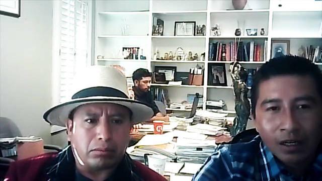 Líderes indígenas guatemaltecos solicitan asilo en EE.UU.