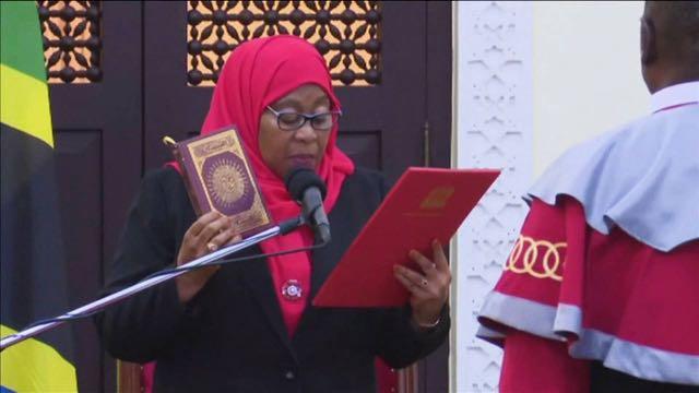 Samia Suluhu Hassan se convierte en la primera mujer presidenta de Tanzania