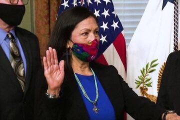 Deb Haaland Sworn In as Interior Secretary, Becomes First Native American Cabinet Member