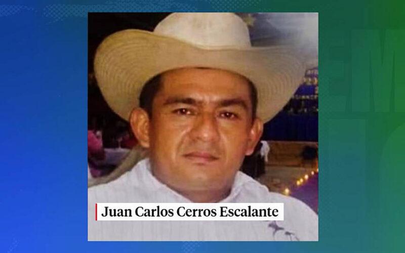 Honduras: Asesinan a tiros al activista medioambiental indígena Juan Carlos Cerros E.