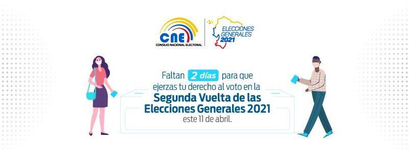 Ecuador: Inicia el silencio electoral y la ley seca