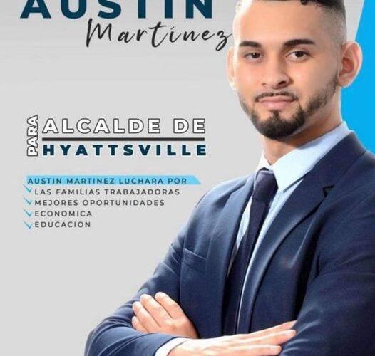 Hijo de salvadoreña podría ser el alcalde de Hyattsville, Maryland