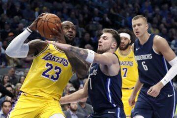 Los LA Lakers caen ante los Mavericks de Dallas 115-110