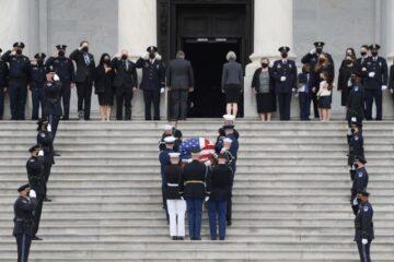 Rinden homenaje al oficial que murió atropellado en el Capitolio de Washington