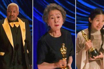 Logros históricos para el cine asiático en los premios Oscar 2021